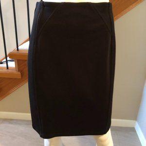 Joseph Ribkoff knit pencil Skirt Black Size 8